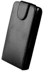 sligo leather case for samsung s5570 galaxy mini black photo