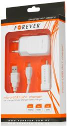 forever universal charger micro usb 3in1 photo