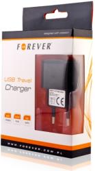 forever usb travel adapter 1a black universal photo