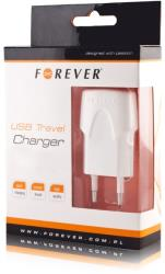 forever usb travel adapter 1a white universal photo
