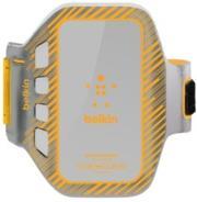 BELKIN HTC EASEFIT PLUS ARMBAND GREY/ ORANGE τηλεπικοινωνίες   θήκες