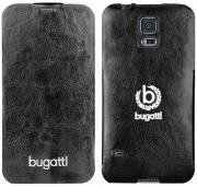 case bugatti flipcase geneva for samsung g900 galaxy s5 black photo