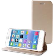 puro bookletcase standup iphone 6 gold photo