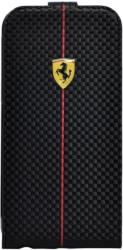 ferrari flip case for iphone 6 fefocflp6bl black carbon photo