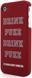 g cube a4 gphd 4r hard case for iphone 4 drink puke red photo