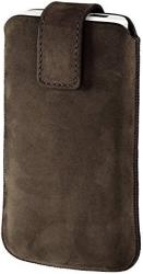 hama 109338 chic case mobile phone sleeve m brown universal photo