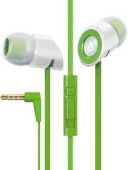 creative hitz ma350 noise isolating in ear mobile headset green photo