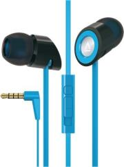 creative hitz ma350 noise isolating in ear mobile headset blue photo