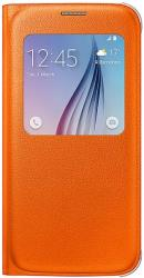 samsung cover s view ef cg920po for galaxy s6 g920 orange photo