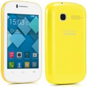 alcatel flip case for pop c1 flash yellow photo