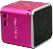 technaxx musicman mini wireless soundstation bt x2 pink photo