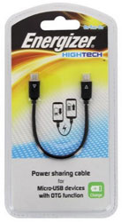 energizer lcaehpowshmc2 power sharing cable for micro usb devices photo