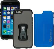 armor x rugged case with switch cover cx i6 gybl for apple iphone 6 charcoal grey blue photo