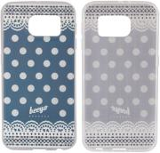 beeyo spots dots case for apple iphone 5 dark blue photo