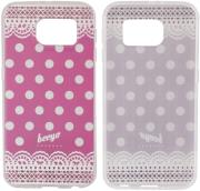 beeyo spots dots case for samsung i9190 s4 mini pink photo