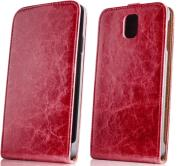 greengo leather case exclusive for samsung g3500 core plus red photo