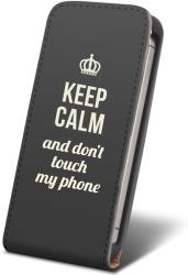 leather case keep calm for samsung i9500 s4 photo