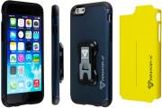 armor x rugged case with switch cover cx i6 blyl for apple iphone 6 yellow navy blue photo