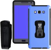 armor x rugged case with belt clip tx ss a7 for samsung galaxy a7 blue photo
