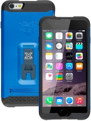 armor x rugged case with kickstand cx mi6p for apple iphone 6 plus dynamic blue photo