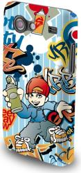 fashion case graffiti boy for lg f70 photo