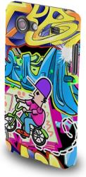 fashion case graffiti bike for samsung i9500 s4 photo