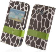 smart safari case for sony xperiat3 giraffe photo