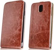 leather case exclusive sony xperia e4 brown photo