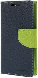 mercury fancy diary case for apple iphone 6 navy blue lime photo