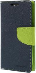 mercury fancy diary case for samsung a3 navy blue lime photo