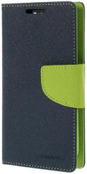 mercury fancy diary case for sony z3 navy blue lime photo