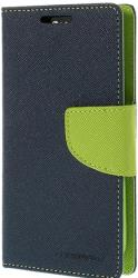 mercury fancy diary case for samsung a7 navy lime photo