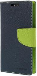 mercury fancy diary case for sony m4 aqua navy lime photo