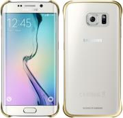 samsung clear cover ef qg925bf for galaxy s6 edge g925 gold photo