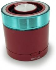 conceptronic cllspk30btr portable bluetooth 30 travel stereo speaker wine red photo