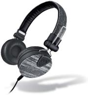 meliconi 497393 mysound speak denim stereo headset denim black photo