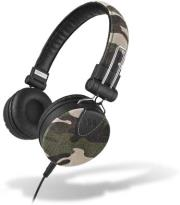 meliconi 497392 mysound speak denim stereo headset camouflage photo