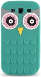 silicon 3d case owl for apple iphone 6 6s green photo