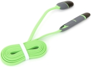 platinet 42872 usb universal cable 2 in 1 micro usb lightning green photo