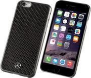 case mercedes hard mehcp6rcabk for apple iphone 6 6s black carbon photo