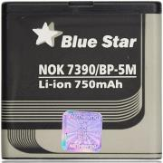 blue star battery for nokia 7390 6110 navigator 8600 luna 6500 slide 900mah photo