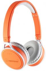 esperanza eh160o bluetooth stereo headset orange photo