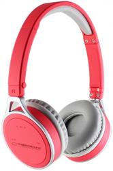 esperanza eh160r bluetooth stereo headset red photo