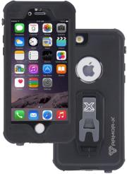 armor x waterproof protective case mx ap4s bk for apple iphone 6 6s black photo