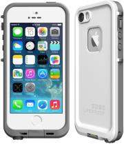 lifeproof 2102 02 fre case for apple iphone 5s white grey photo