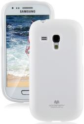 mercury jelly case for samsung i8190 s3 mini white photo