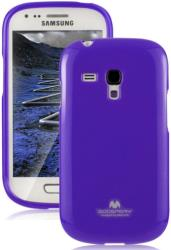 mercury jelly case for samsung i8190 s3 mini purple photo
