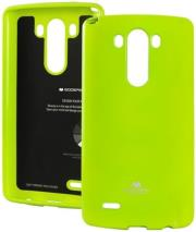 mercury jelly case for lg g3 lime photo