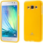 mercury jelly case for samsung a5 2016 yellow photo