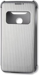 lg flip case quick cover view cfv 160 for lg g5 h850 silver photo